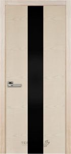 23 ясень Crema (с черным стеклом)