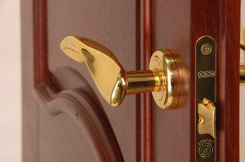 Дверная фурнитура: материал, цвет и стиль
