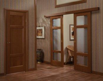 Разновидности межкомнатных дверей по способу открывания