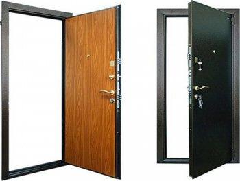 Конструкция входных дверей из металла