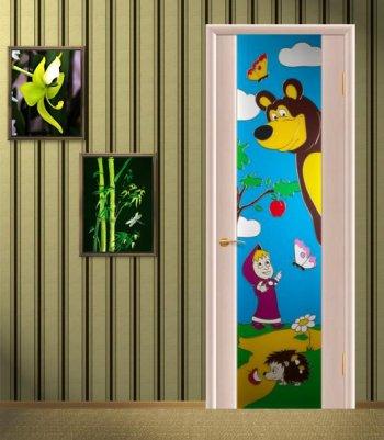 Идеальные двери для детской комнаты